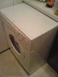 移動した洗濯機の画像