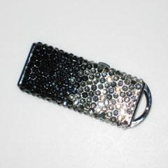 ラインストーンの USB メモリの画像