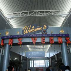Las Vegas の空港の画像