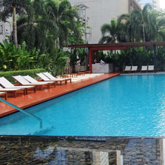 The Metropolitan Bangkok のプールの画像